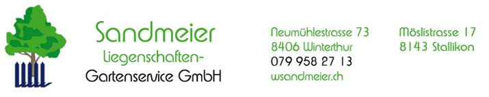 Sandmeier Liegenschaften-Gartenservice GmbH
